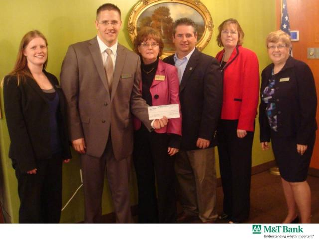 M&T Bank Donation to Community Service